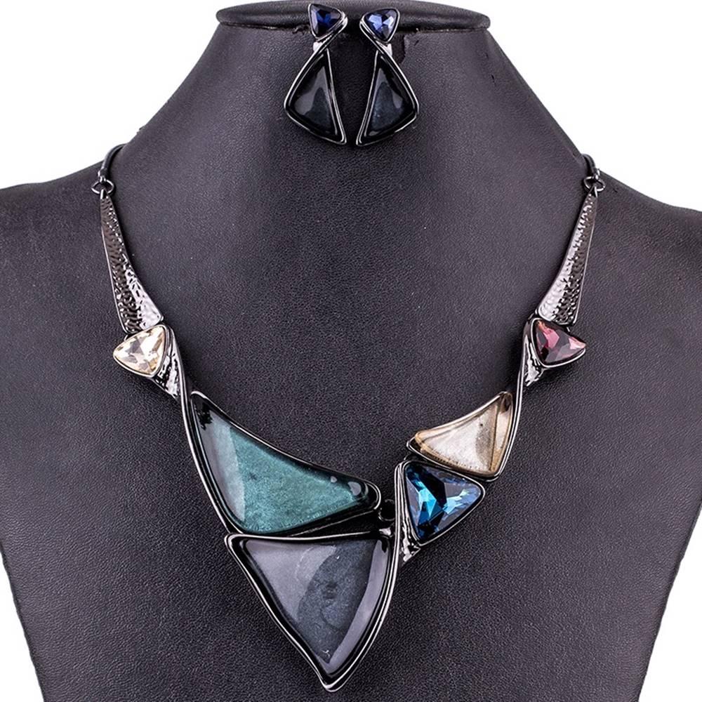 Izmael Set Triangle Consort-Tyrkysová