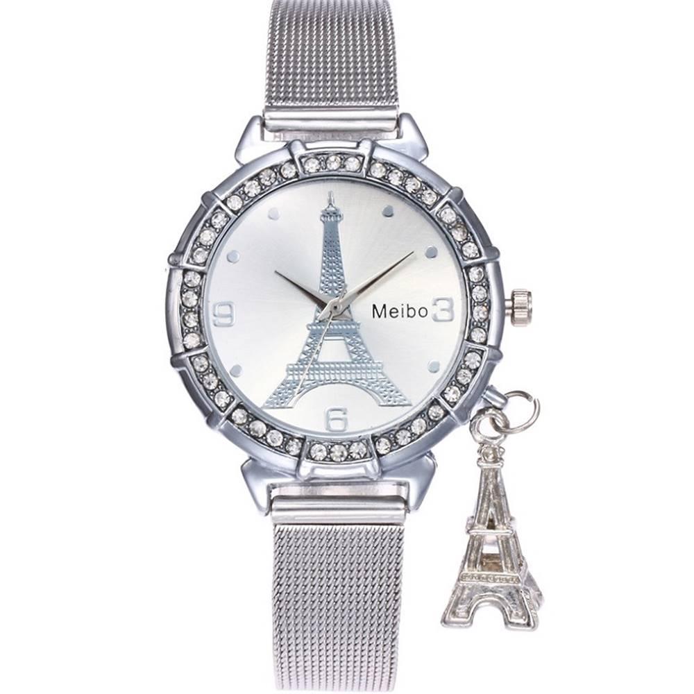 Izmael Hodinky Eiffel-Strieborná