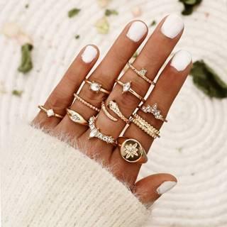 Sada prstienkov Mariola-Zlatá