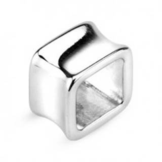 Tunel do ucha - dutý štvorec z chirurgickej ocele - Hrúbka: 10 mm