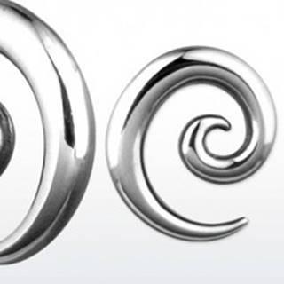 Expander oceľový slimáčia špirálka, rôzne veľkosti - Hrúbka piercingu: 2 mm