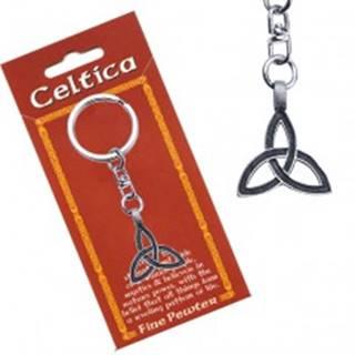 Prívesok na kľúče, keltský uzol s dvojitou líniou