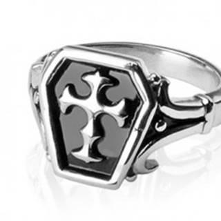 Prsteň z chirurgickej ocele - keltský kríž - Veľkosť: 58 mm