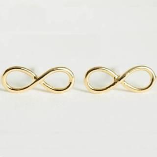 Náušnice Infinite Chain-Zlatá