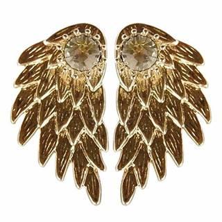 Náušnice Majestic-Zlatá