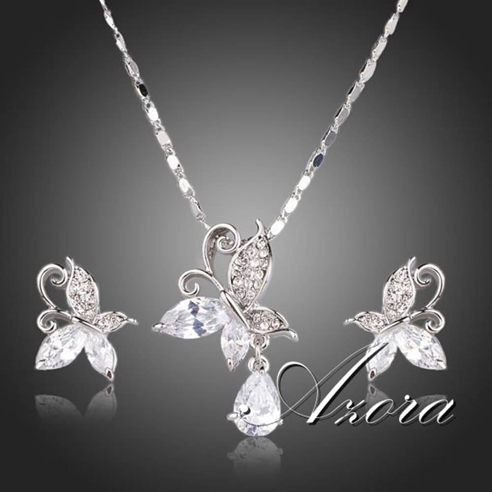 Izmael Set AZORA Crystal Butterfly - Kryštálová